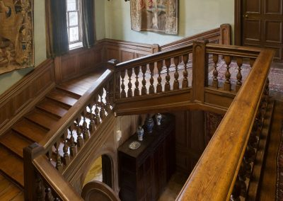 The Staircase at Nunnington Hall, North Yorkshire