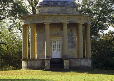 The Tuscan Temple at the south end of Rievaulx Terrace, Helmsley, North Yorkshire