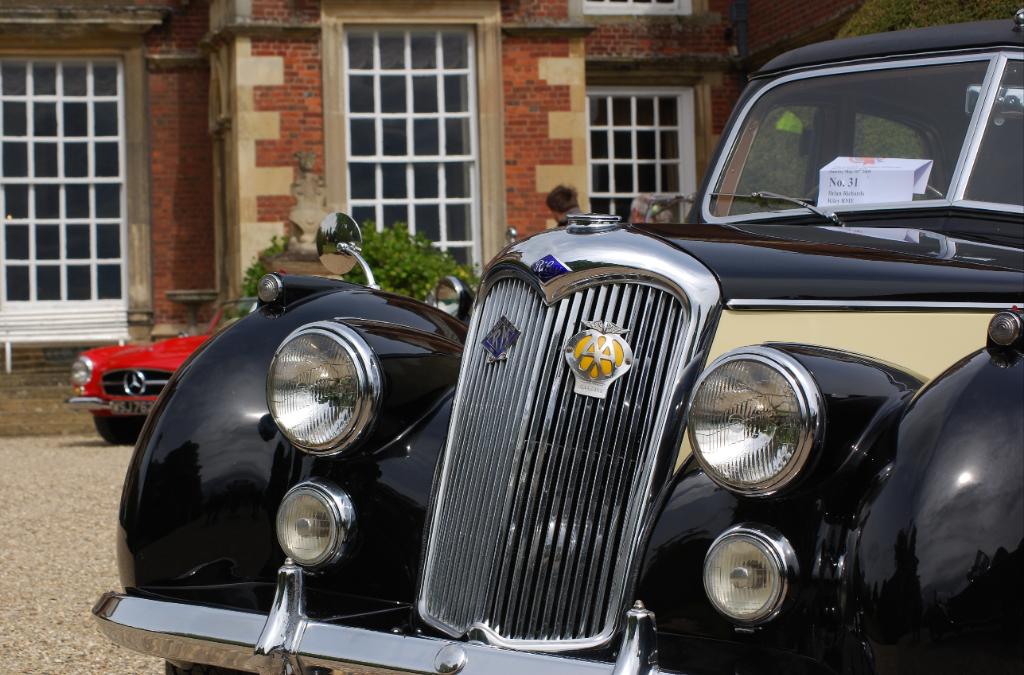 Classic cars at Burton Agnes