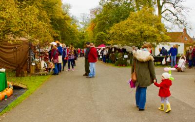 Join us at Burton Agnes Hall's Autumn Festival