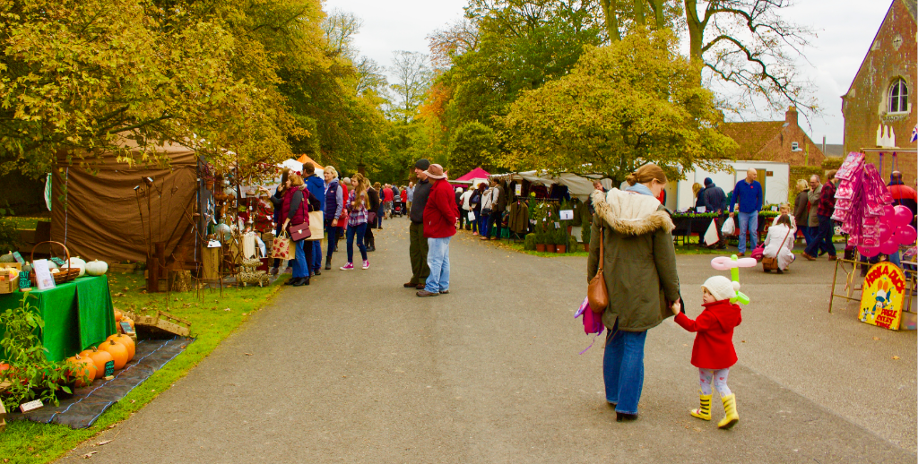 Join us at Burton Agnes Hall's Autumn Festival