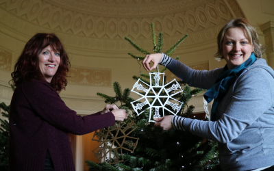 Creating a Community Christmas at Nostell