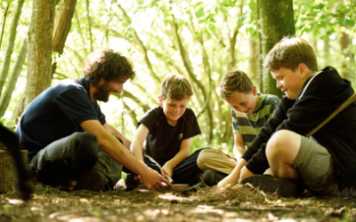 Bushcraft and beer at Beningbrough on Father's Day