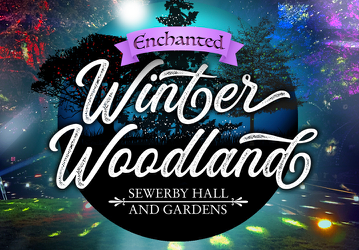 New Enchanted Winter Woodland at Sewerby Hall and Gardens