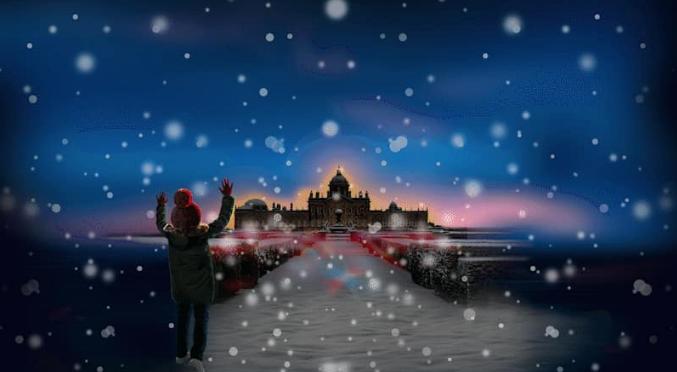 An Illuminated Christmas at Castle Howard